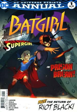 Batgirl (2016-2020)#Annual 1
