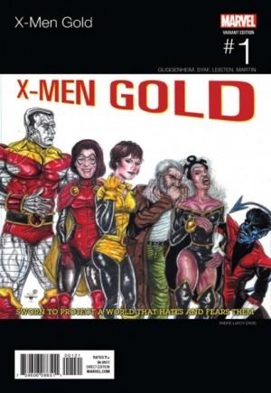 X-Men: Gold (2017-2018)#1B