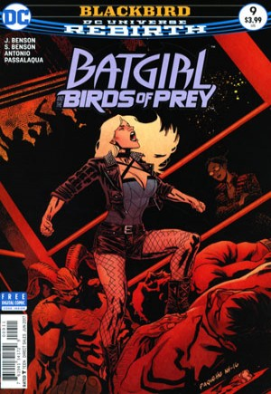 Batgirl and the Birds of Prey (2016-2018)#9A