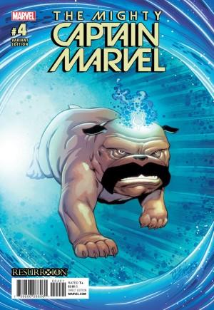 Mighty Captain Marvel#4B