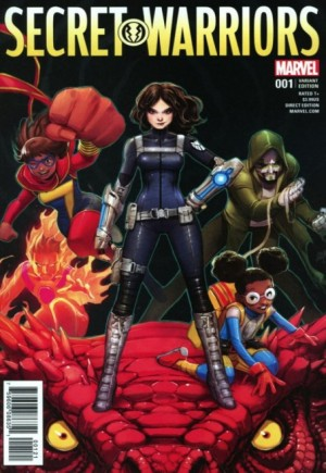 Secret Warriors (2017-Present)#1B
