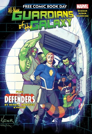 All-New Guardians Of The Galaxy (FCBD 2017)#1
