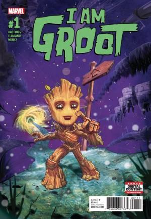 I Am Groot (2017)#1A