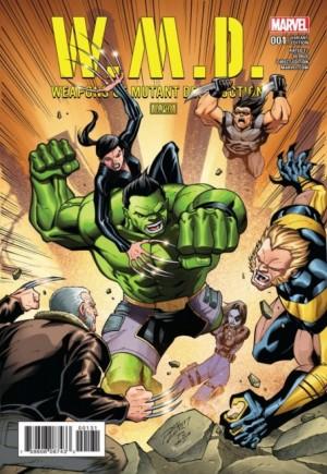 W.M.D. Weapons Of Mutant Destruction#1C
