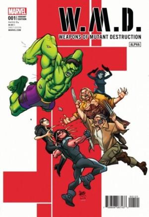 W.M.D. Weapons Of Mutant Destruction#1B