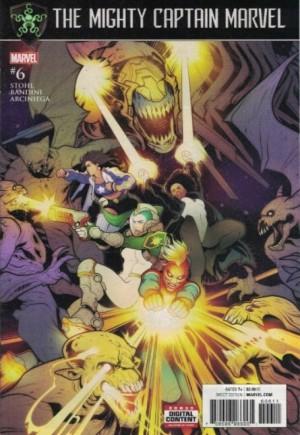 Mighty Captain Marvel#6A