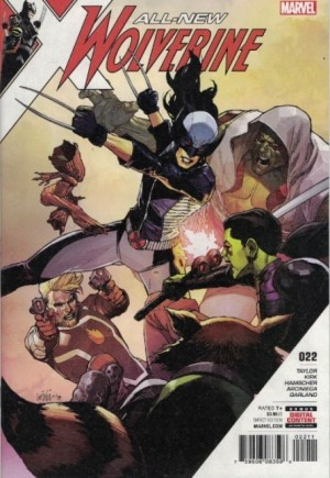 All-New Wolverine (2016-2018)#22A