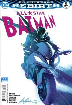 All-Star Batman (2016-2017)#13B