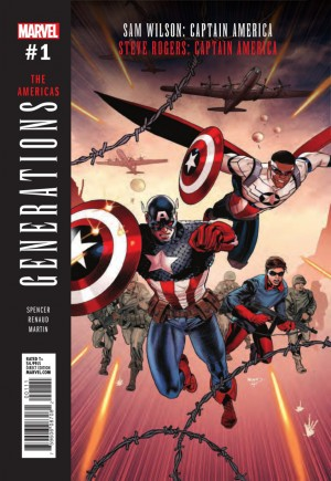 Generations Captain Americas #1A