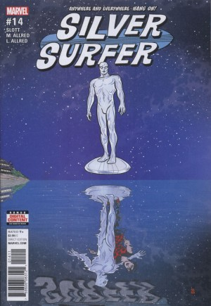 Silver Surfer (2016-Present)#14A