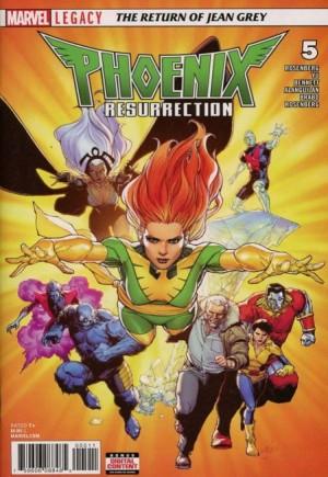 Phoenix Resurrection: Return of Jean Grey#5A