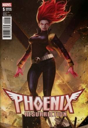 Phoenix Resurrection: Return of Jean Grey#5B