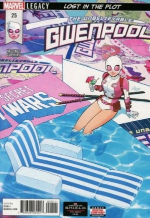 Unbelievable Gwenpool (2016-Present) #25A