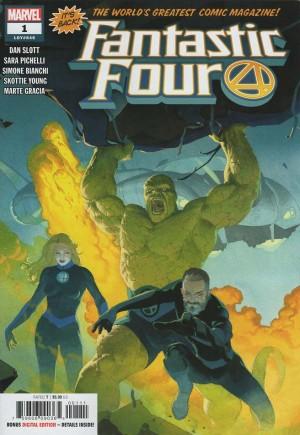 Fantastic Four (2018-Present)#1A
