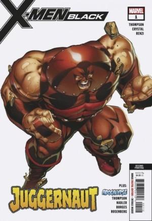 X-Men Black: Juggernaut#1D