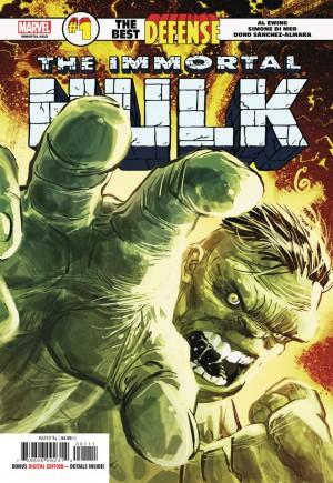 Immortal Hulk: The Best Defense#1A