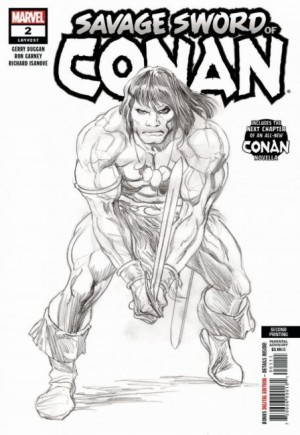 Savage Sword Of Conan (2019-2020) #2D