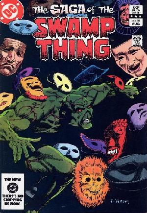 Saga of the Swamp Thing (1982-1984)#16