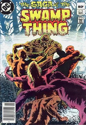 Saga of the Swamp Thing (1982-1984)#18