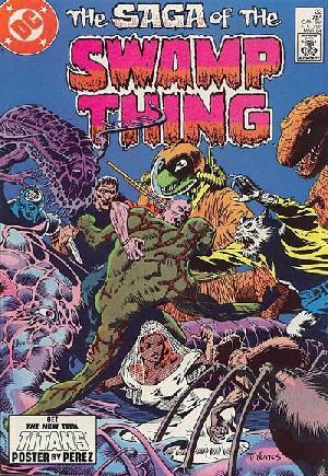 Saga of the Swamp Thing (1982-1984)#22