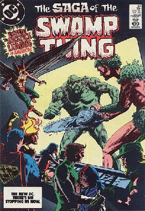 Saga of the Swamp Thing (1982-1984)#24