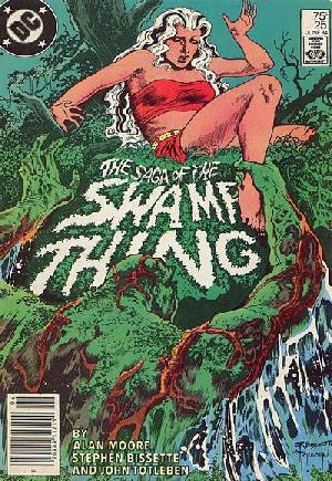 Saga of the Swamp Thing (1982-1984)#25