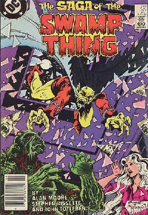 Saga of the Swamp Thing (1982-1984)#27A