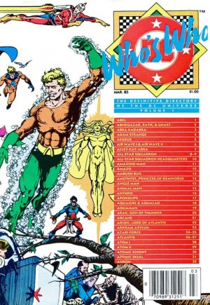 Who's Who: The Definitive Directory of the DC Universe (1985-1987) #1A