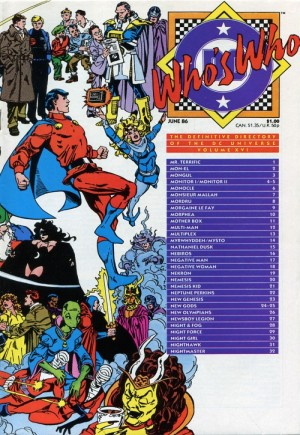 Who's Who: The Definitive Directory of the DC Universe (1985-1987)#16