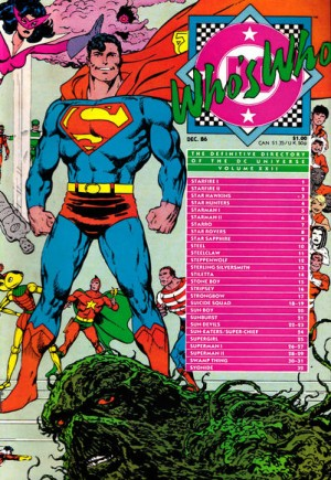 Who's Who: The Definitive Directory of the DC Universe (1985-1987)#22B