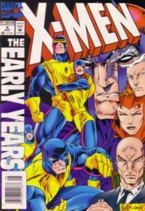 X-Men: The Early Years (1994-1995)#4A