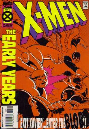 X-Men: The Early Years (1994-1995)#7