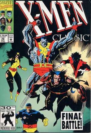 X-Men Classic (1990-1995)#70B