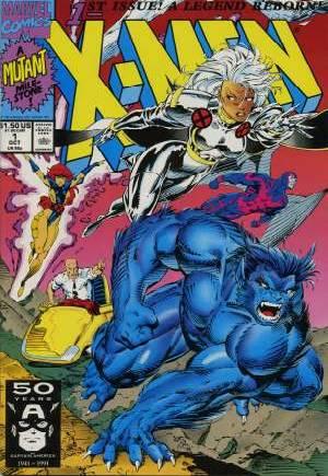 X-Men (1991-2001, 2004-2008)#1C