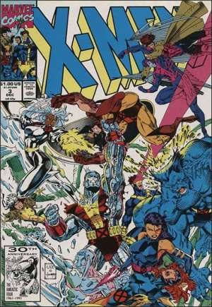 X-Men (1991-2001, 2004-2008)#3B