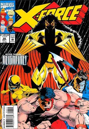 X-Force (1991-2002)#26B
