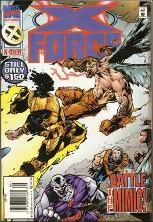 X-Force (1991-2002)#46A