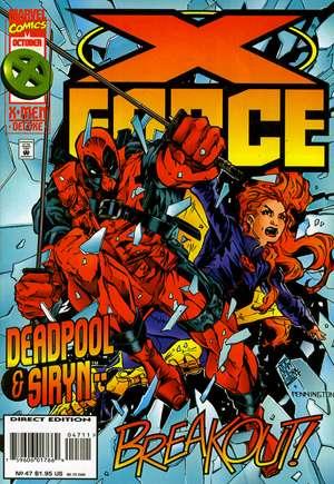 X-Force (1991-2002)#47B