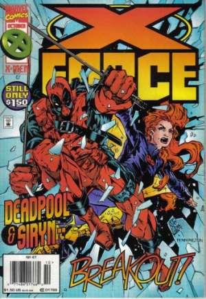 X-Force (1991-2002)#47A