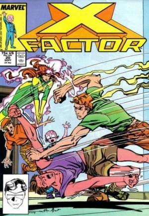X-Factor (1986-1998)#20B