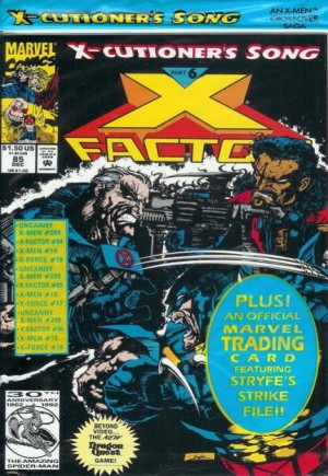 X-Factor (1986-1998)#85D