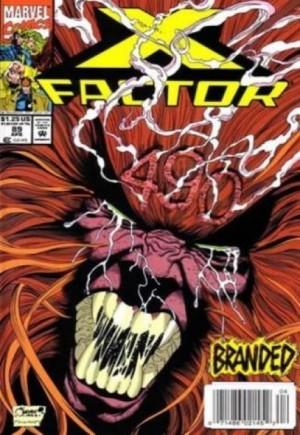 X-Factor (1986-1998)#89A