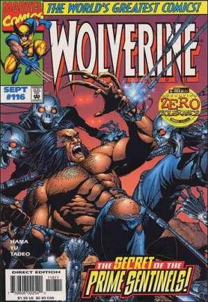 Wolverine (1988-2003)#116