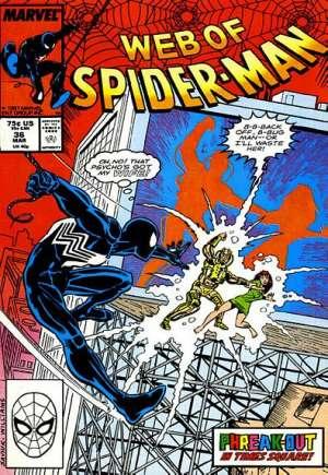 Web of Spider-Man (1985-1995)#36B