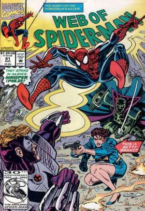 Web of Spider-Man (1985-1995)#91B