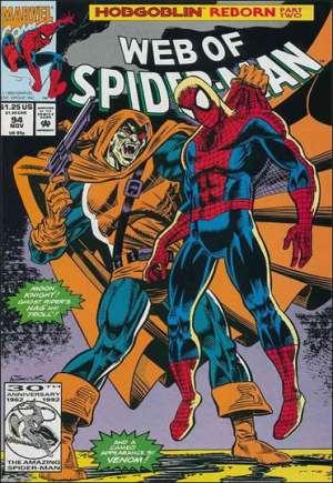 Web of Spider-Man (1985-1995)#94B
