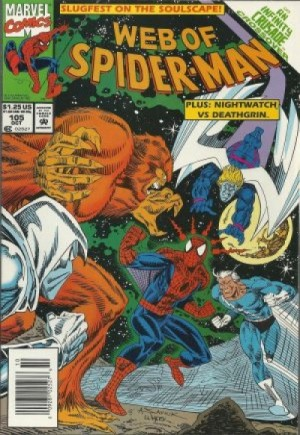 Web of Spider-Man (1985-1995) #105A