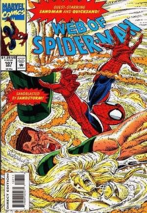 Web of Spider-Man (1985-1995)#107