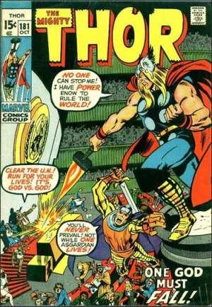 Thor (1966-1996)#181