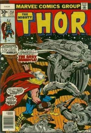 Thor (1966-1996)#258A
